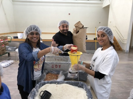 2020 Rise Against Hunger - Community Service